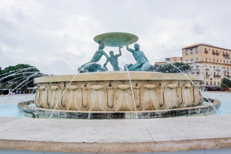 Triton's fountain